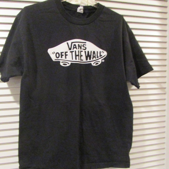 Vans Off The Wall Logo T Shirt, Men's Fashion, Clothes, Tops